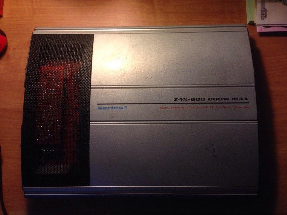 Усилитель spl z4x-800 цена
