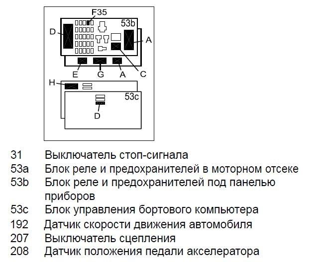 обозначения на схеме
