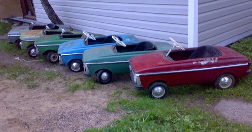 стоить найти продажу старых педальных машинок в крыму выложил пост про