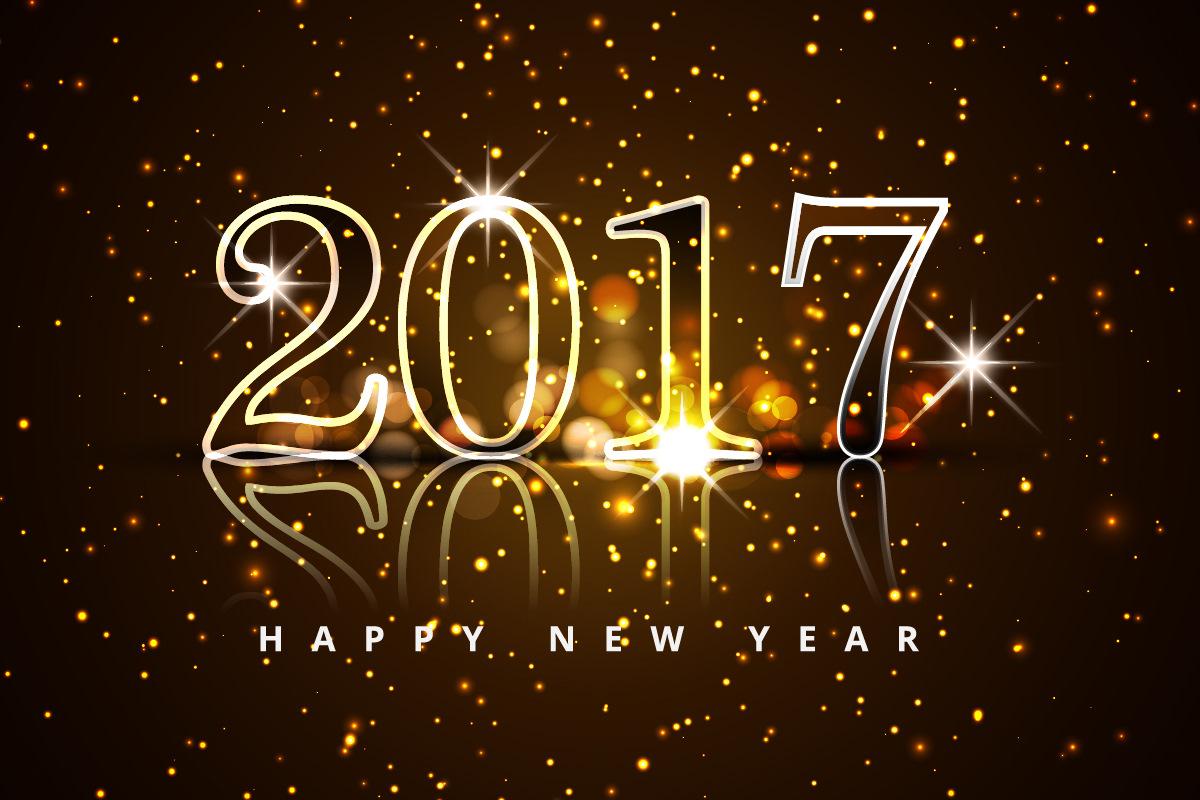 Картинки с новым годом 2017 красивые
