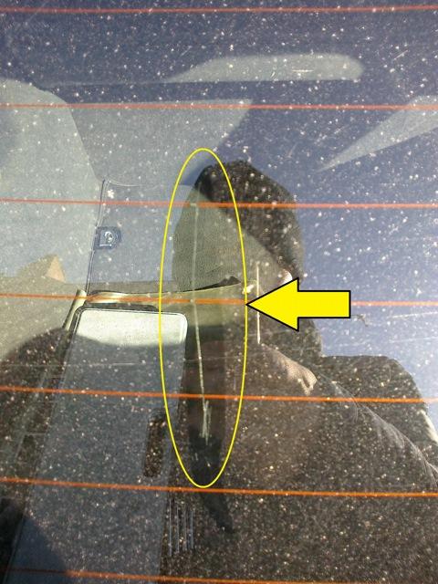 Как сделать нить обогрева заднего стекла