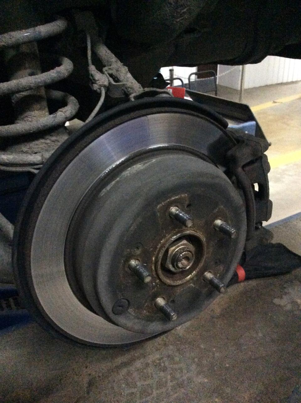 Замена заднего тормозного диска hr v Замена замка зажигания форд s max