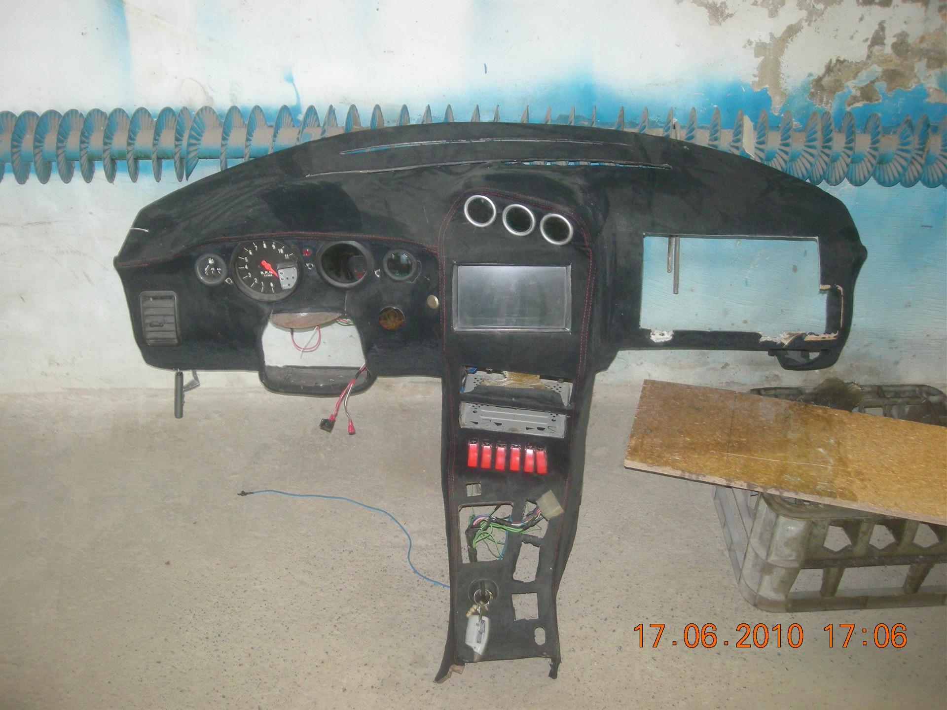 Фото №12 - тюнинг торпеды ВАЗ 2110