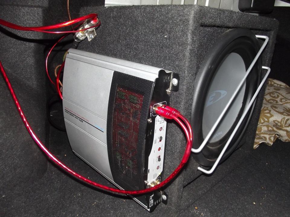 прокладываем кабеля к усилителю chevrolet captiva