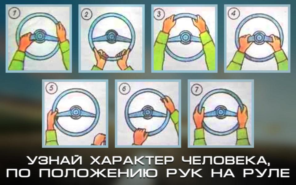 службы как держат руль разные люди картинка вашем гардеробе