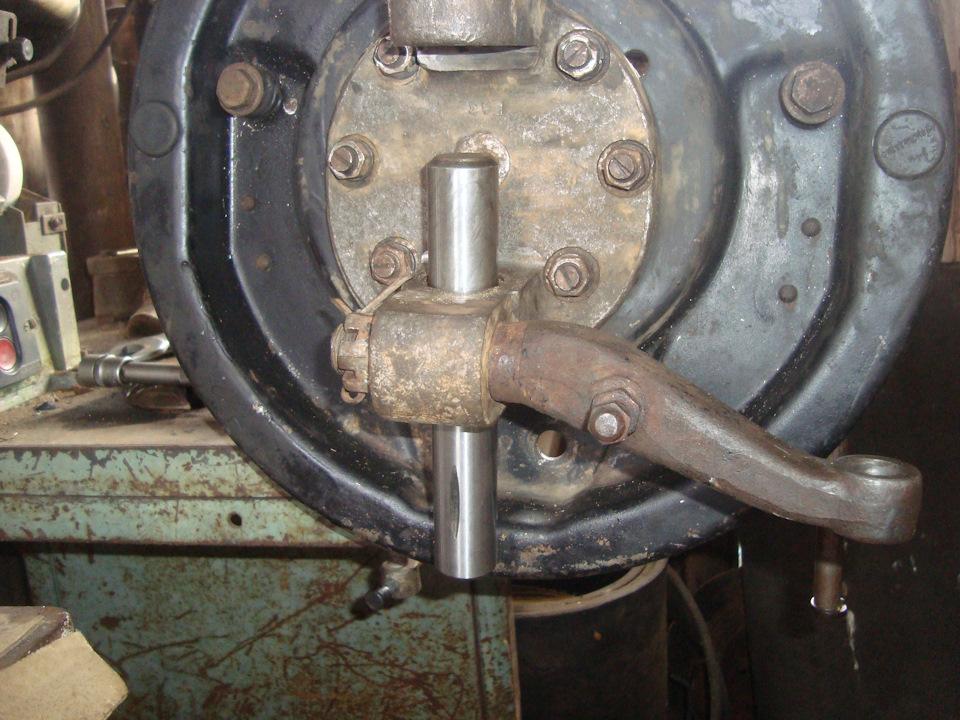 Шкворня газ 53 своими руками 960