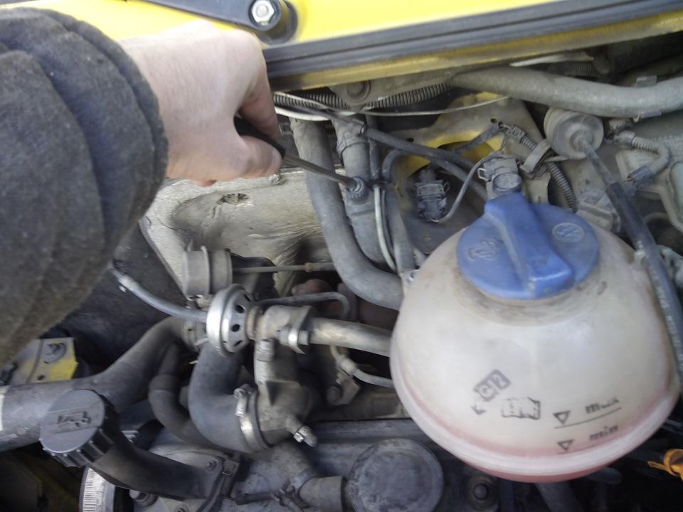 Фольксваген транспортер т4 замена термостата конвейеры роликовый