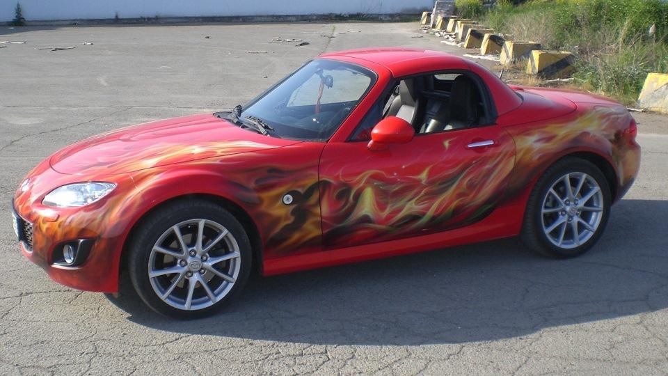 Mazda mx 5 молния маквин источник