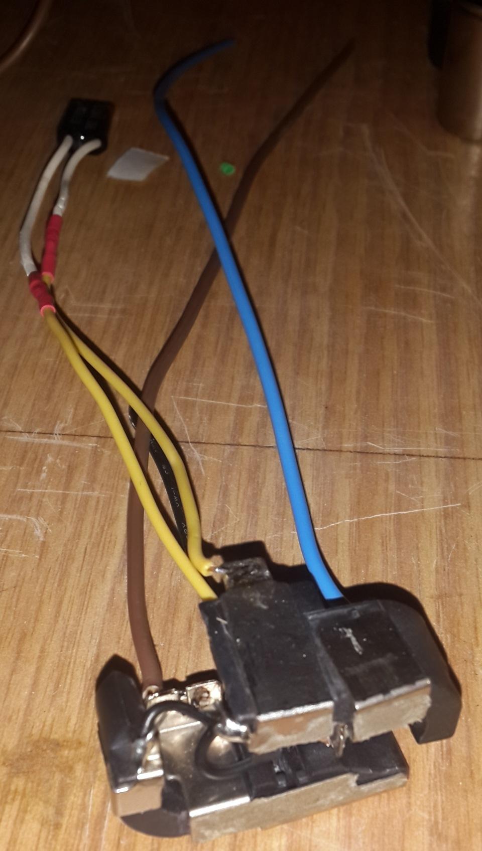 калибр схема зарядника шуруповерта