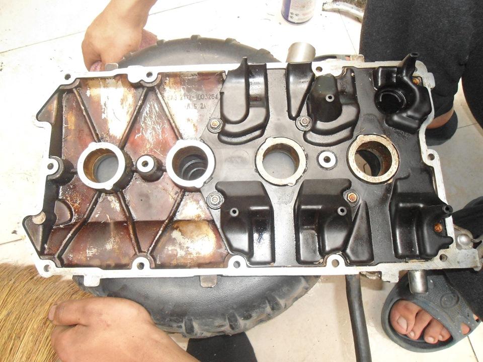 Фото №2 - замена прокладки клапанной крышки ВАЗ 2110 8 кл