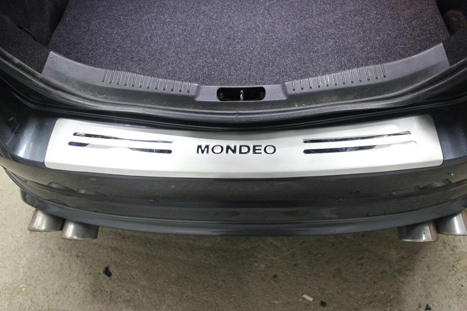 Форд мондео 4 юбка заднего бампера