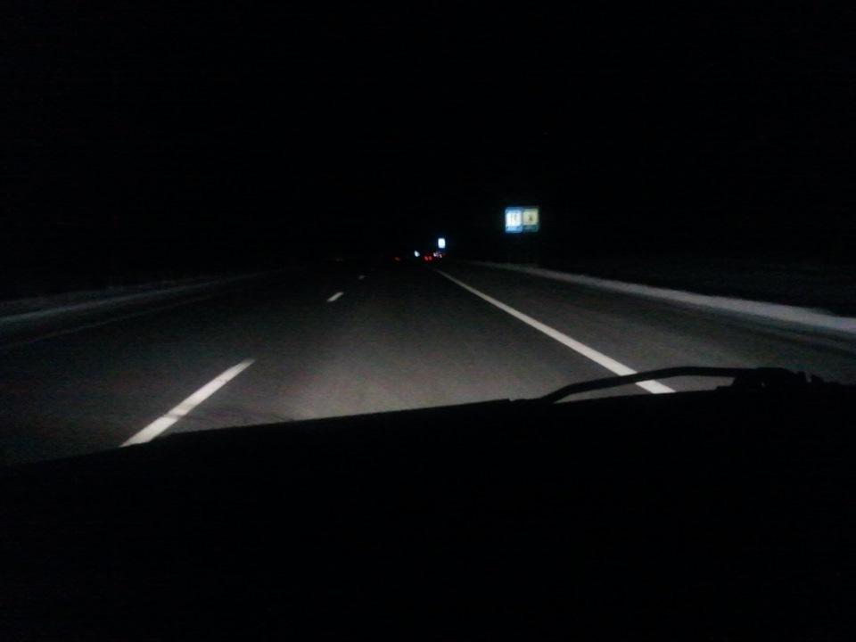 фото ночной трассы
