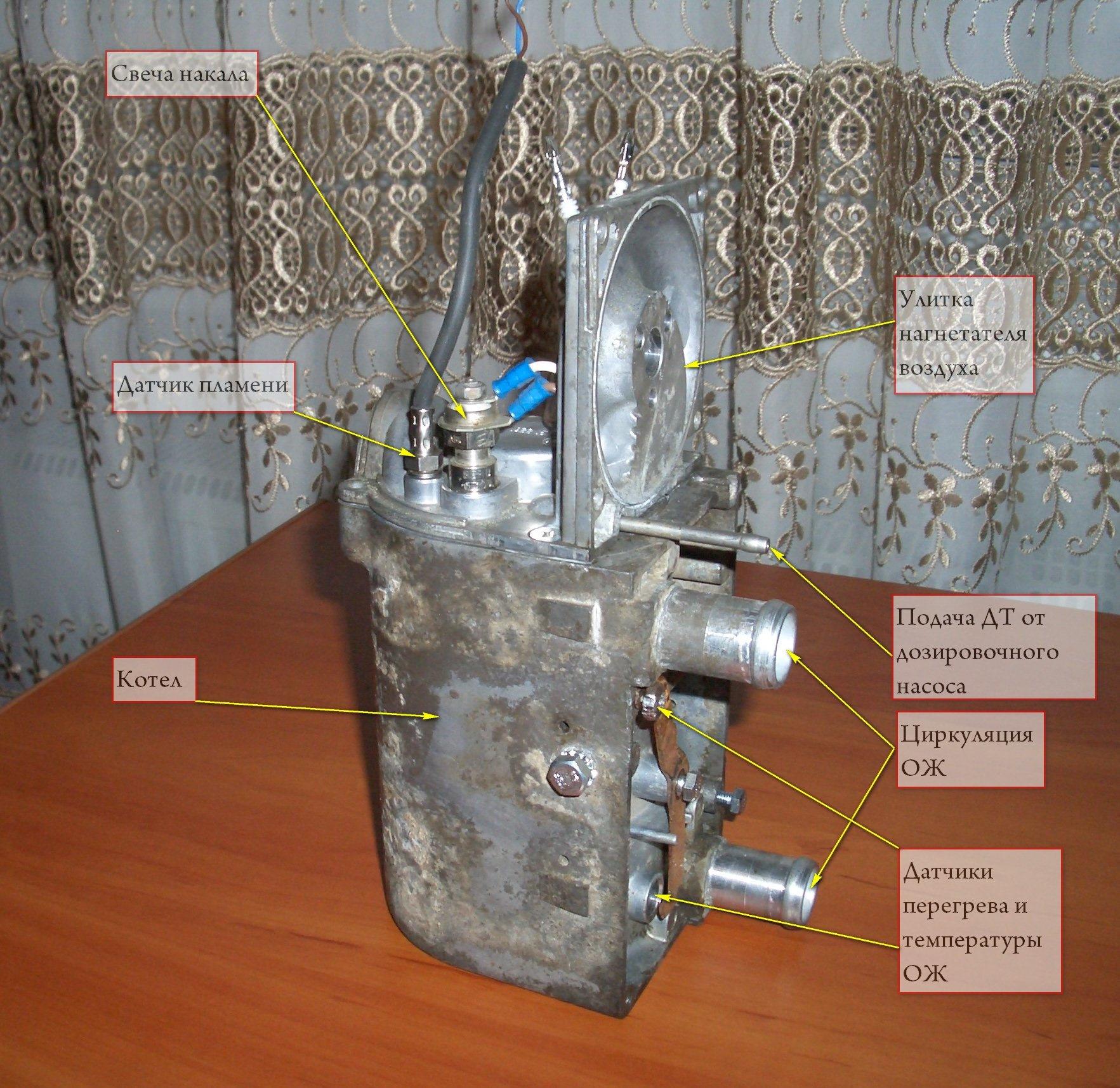 Eberspacher d5wz схема подключения фото 169