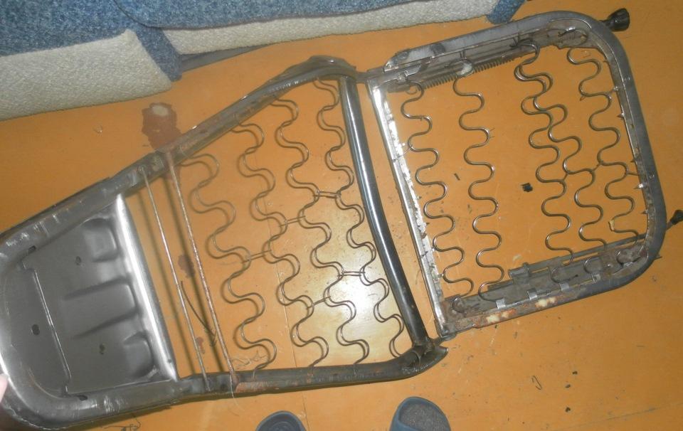 в сиденья от ваз 2107=)