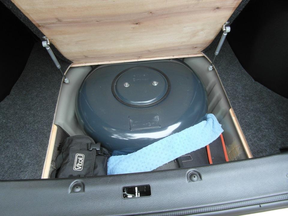 Как сделать пол багажника