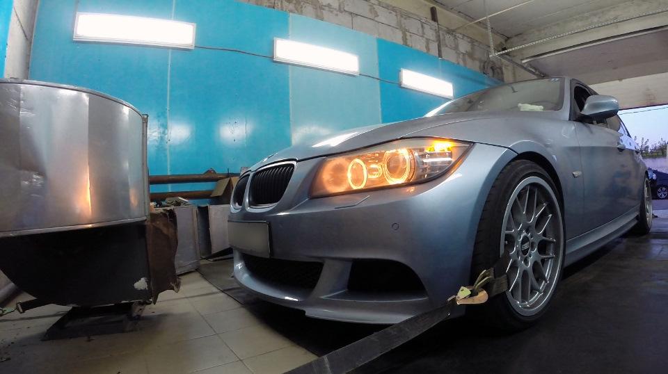 BMW E90 320D N47n STAGE2 / Чип-тюнинг PowerLab / Замер на