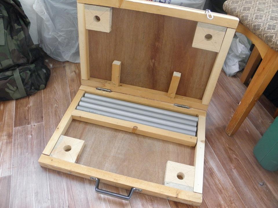 Разборные столы для пикника своими руками 16