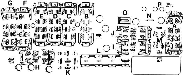 Схема расположения монтажрого блока ауди 80 Ауди 80 pm блок тойота карина схема блока места расположения и...