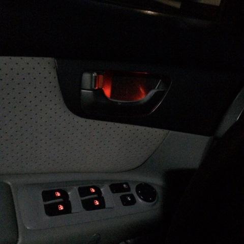 Подсветка дверных ручек в авто своими руками 178