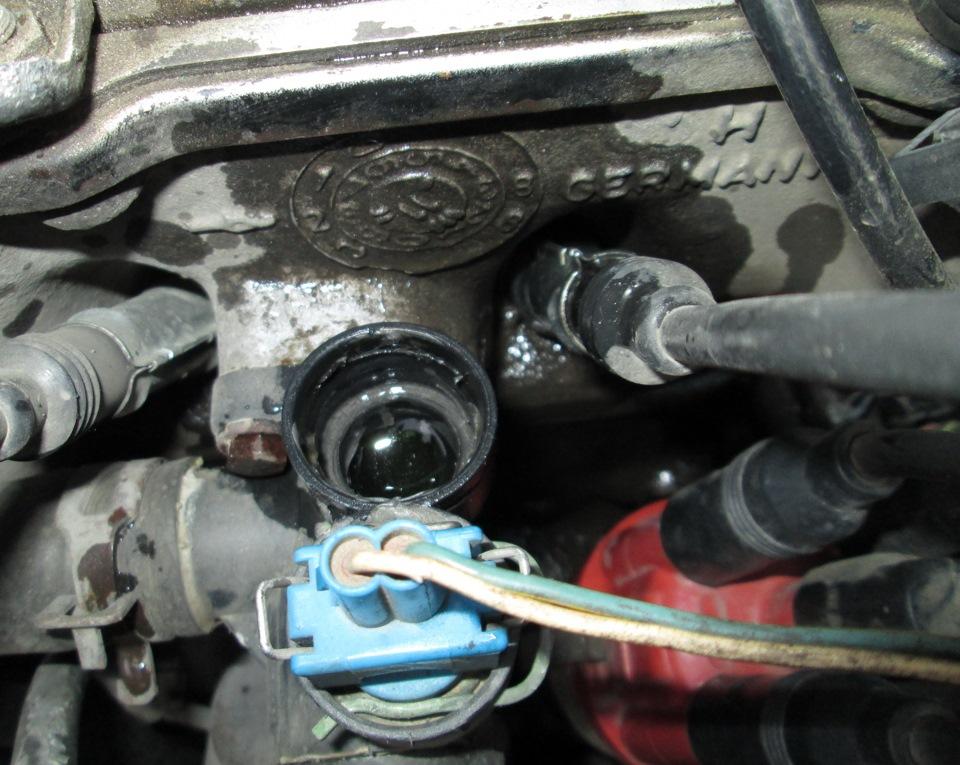 Датчик температуры двигателя тойота двигатель