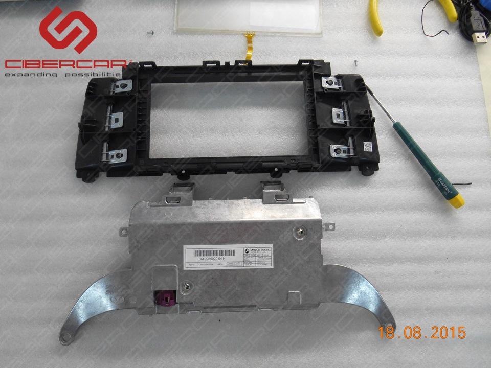 Для управления AirTouch необходимо внедрить стекло с тачскрином в штатный монитор.