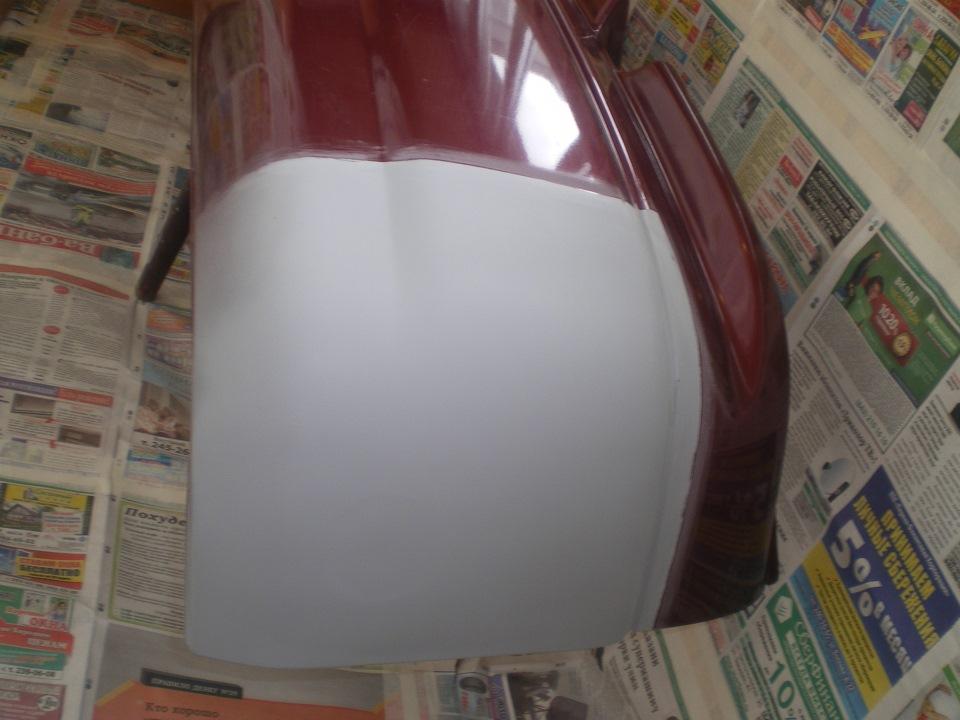 Покраска бампера на ваз 2110 своими руками 82