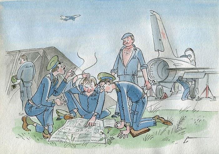 День воздушного флота картинки с юмором, белые