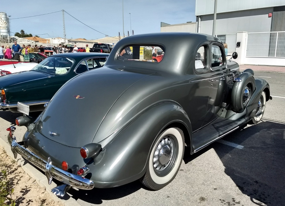 Dodge Business Coupe 1936
