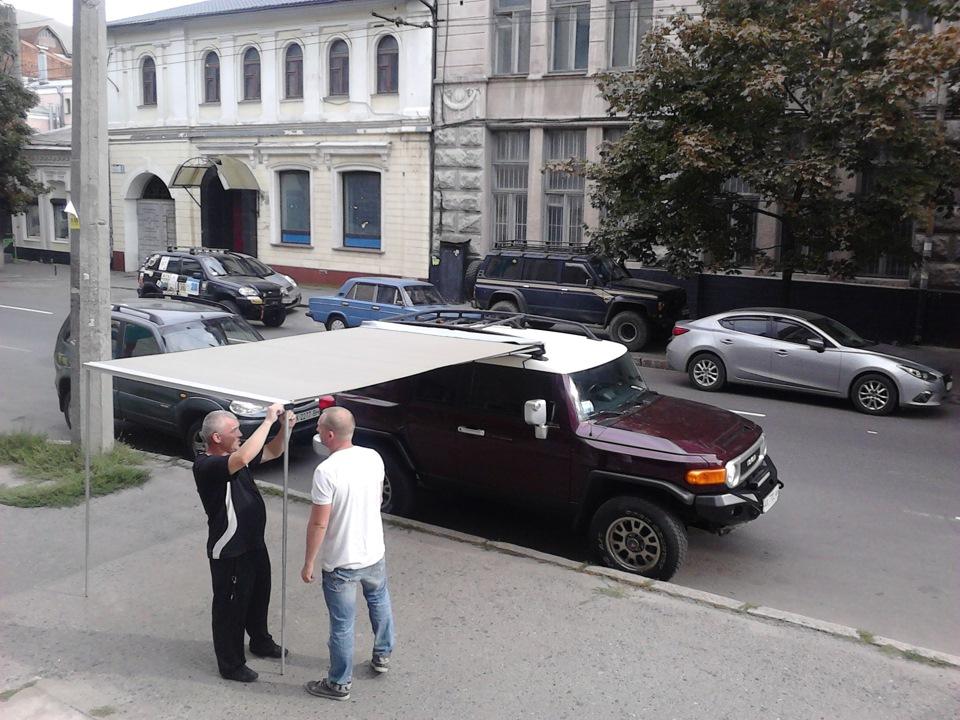 Маркизы для автомобилей своими руками 497