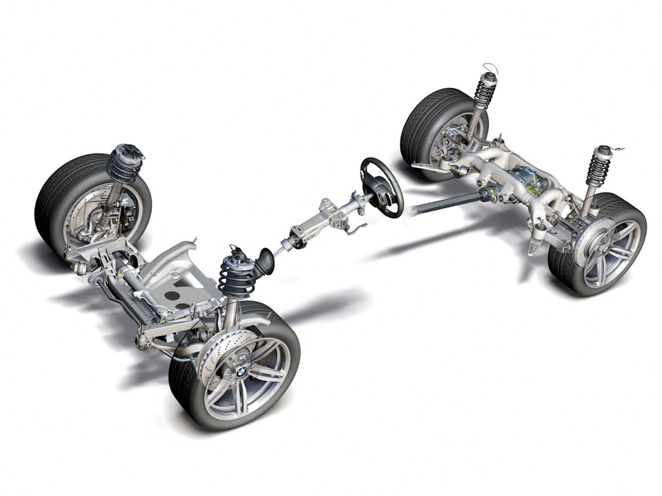 Этапы ремонта ходовой части авто