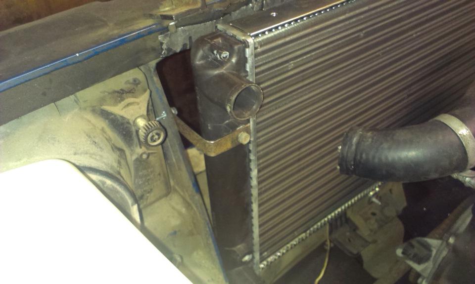 Ремонт радиатора уаз своими руками 55
