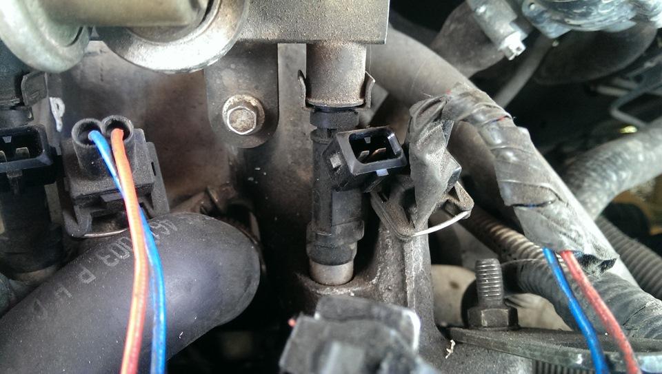 Фото №21 - замена форсунок ВАЗ 2110 8 клапанов