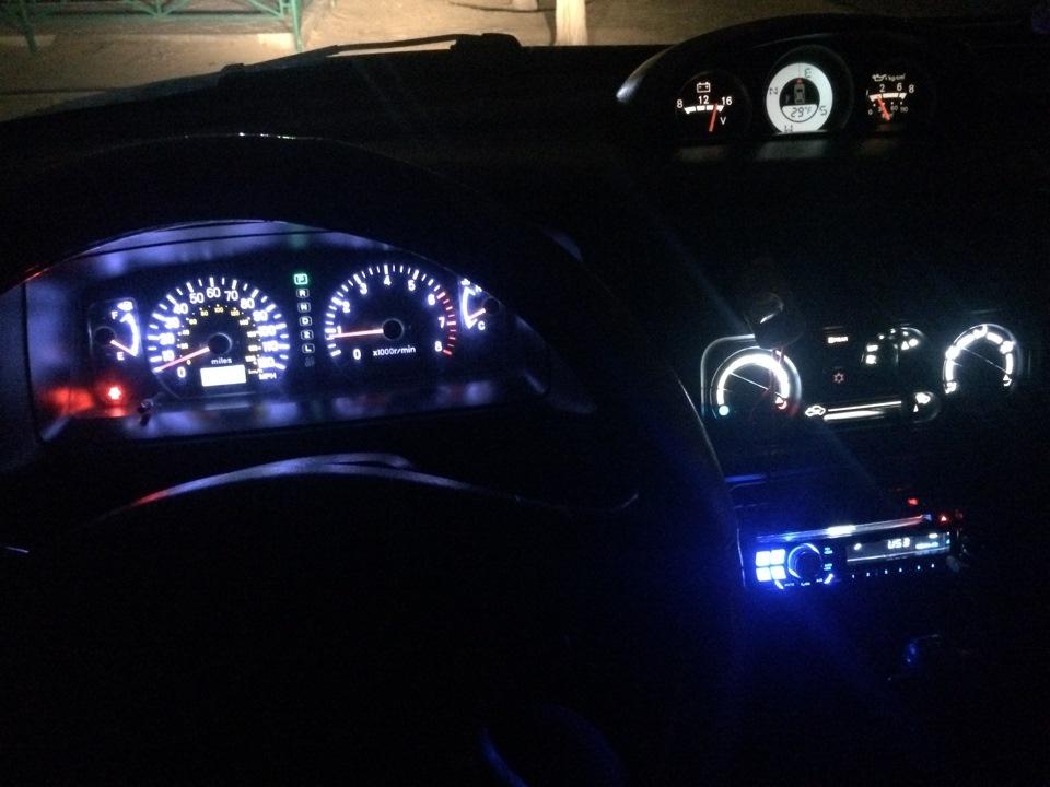 концепт авто подсветка приборной панели монтеро 3