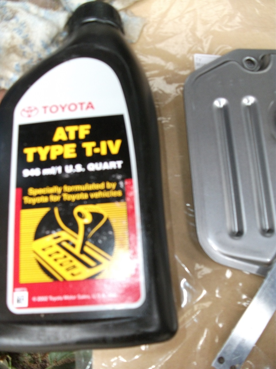 Toyota Highlander 3 5 2014 жидкость акпп