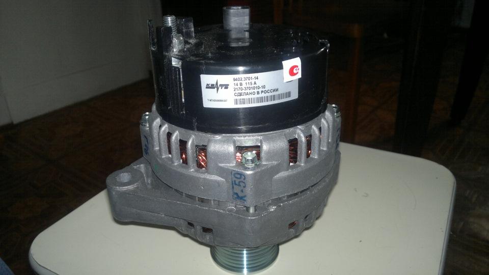 генератор на 80 ампер!