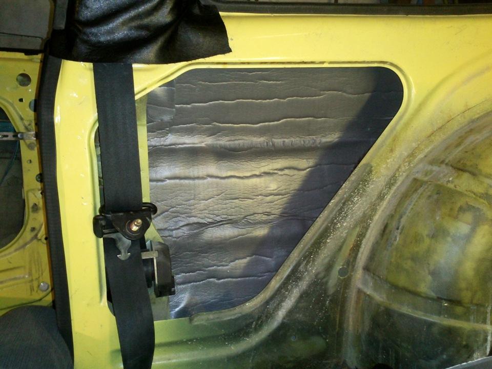 Замена ковролина в авто своими руками 6