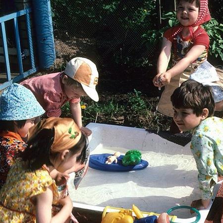 Однажды в детском саду. 80е