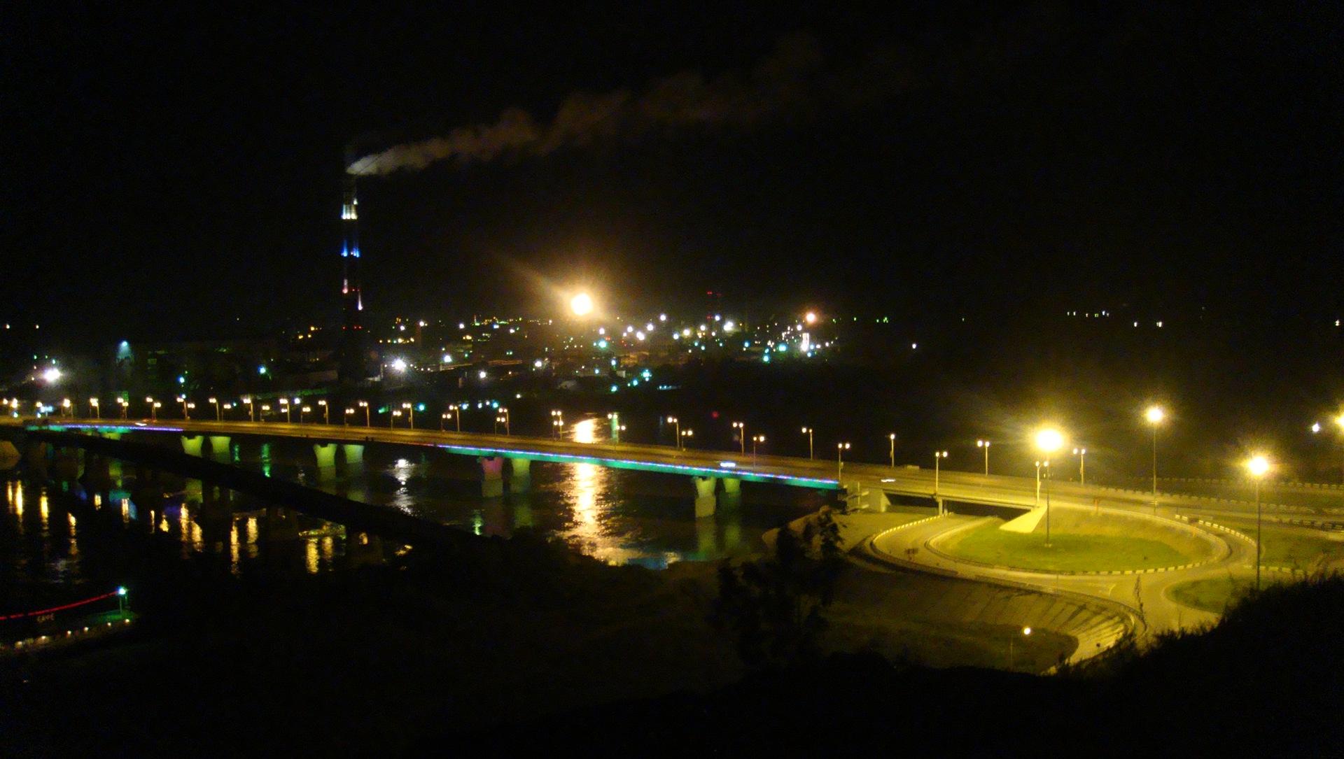 фото ночного кемерово расшифровка фото, электрической