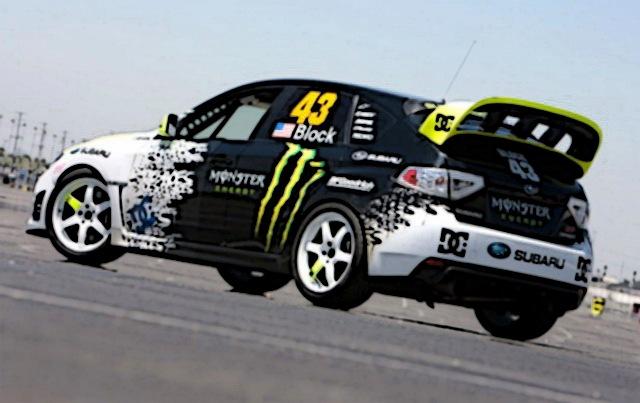Вариант, не? этим летом подумываю заказать наклейки, а ля Monster Energy,  как у Kenu0027а Blocku0027а на Subaru Impreza WRX Sti (2009)