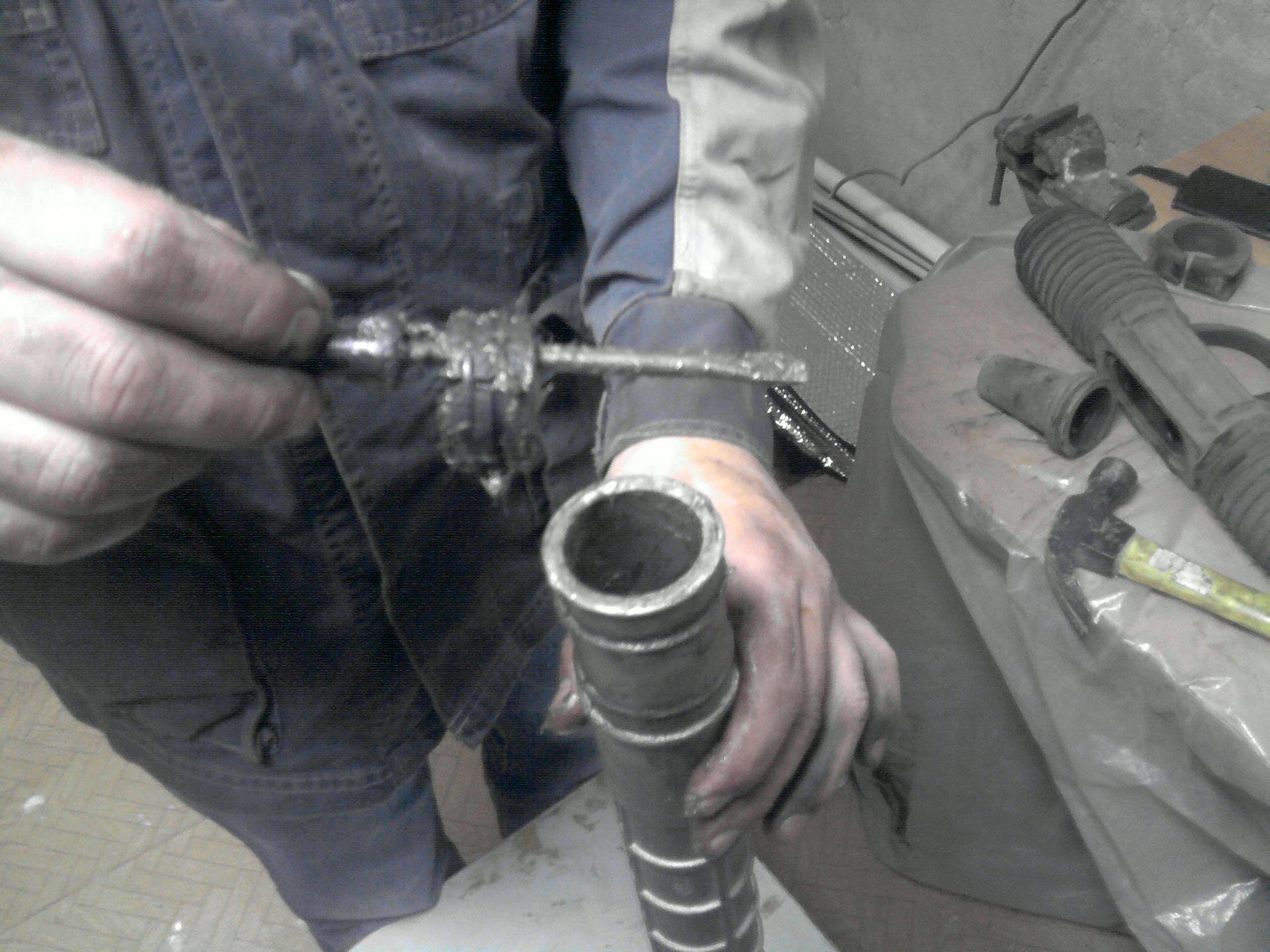 Фото №42 - замена ремкомплекта рулевой рейки ВАЗ 2110