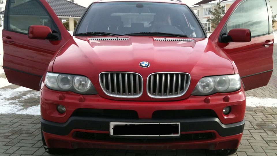 Bmw X5 48is 360hp Red Baron Drive2