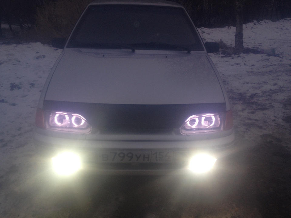 Ангельские глазки ВАЗ 2114 - DRIVE2