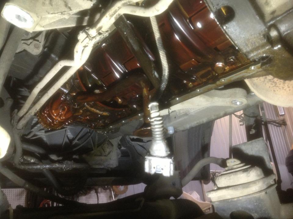 Замена прокладки поддона двигателя m52tu (bmw e39)