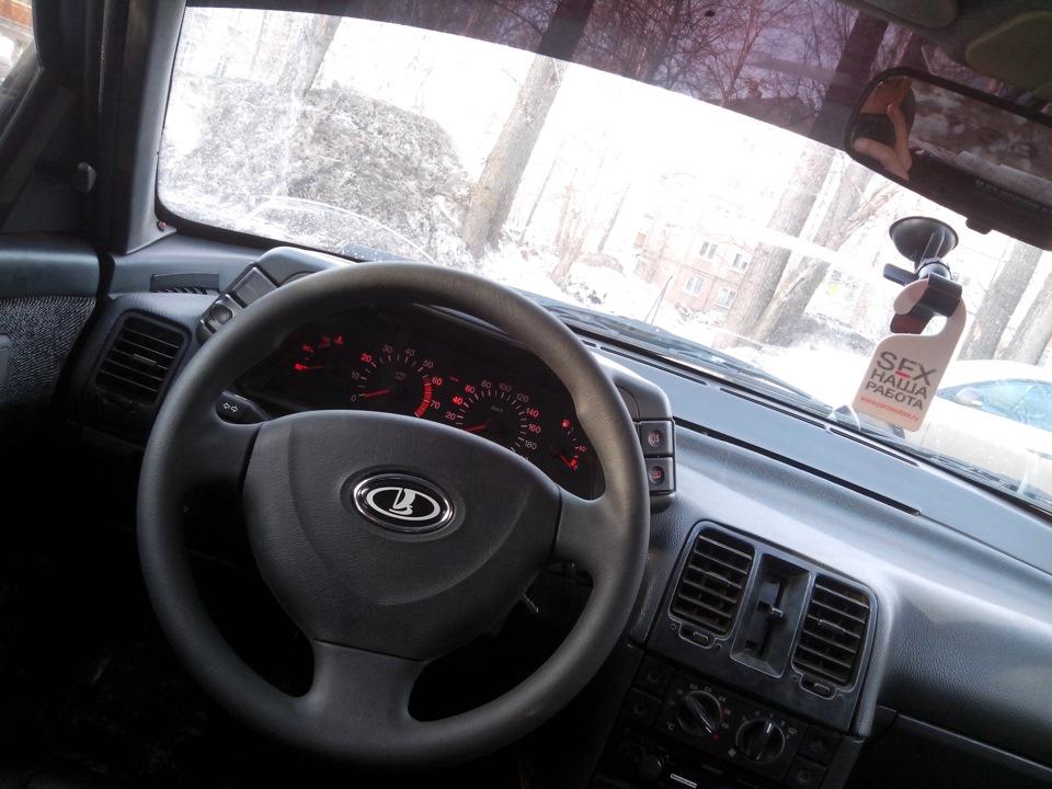 Фото №22 - руль на ВАЗ 2110