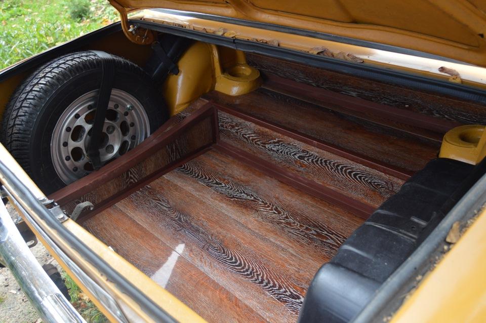 Багажник из дерева своими руками
