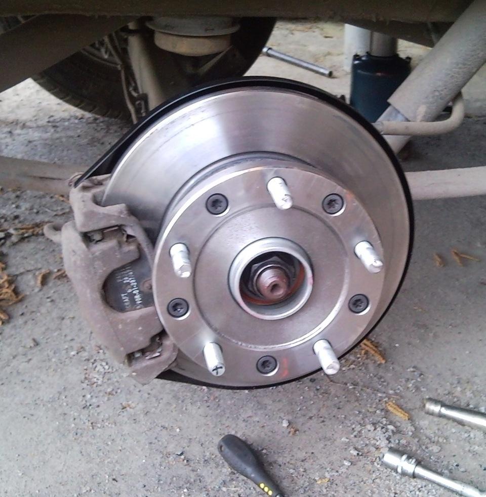 задние тормозные диски на форд транзит 300