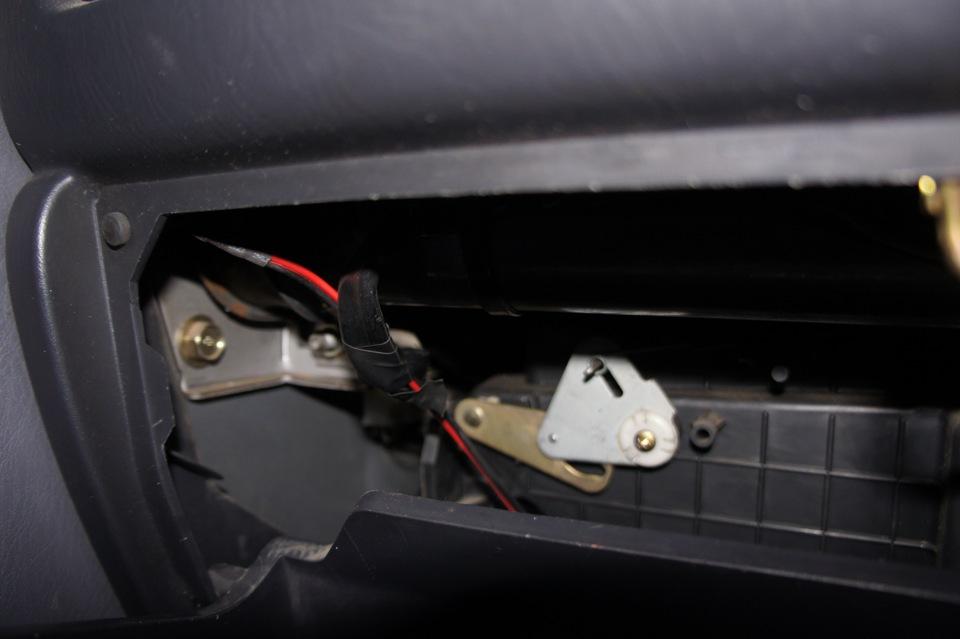 датчик температуры в машине