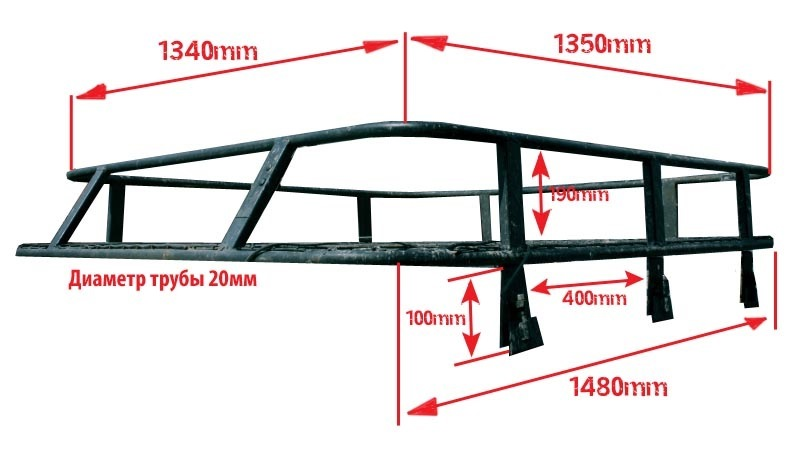 Как сделать багажник на ниву 21213 своими руками - Pizza e Birra