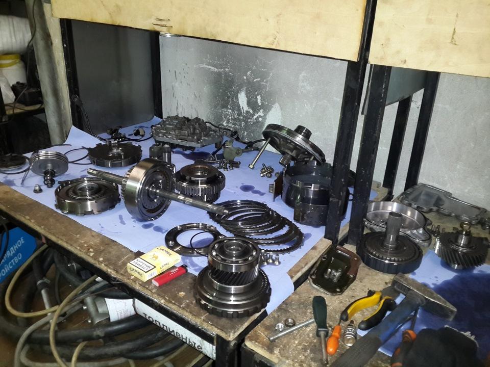митсубиси рвр ремонт автомата своими руками