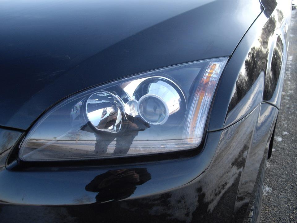 установка заводского ксенона ford focus 3